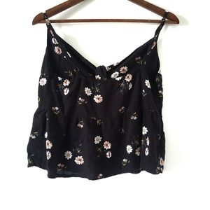 Hollister Floral Crop Top